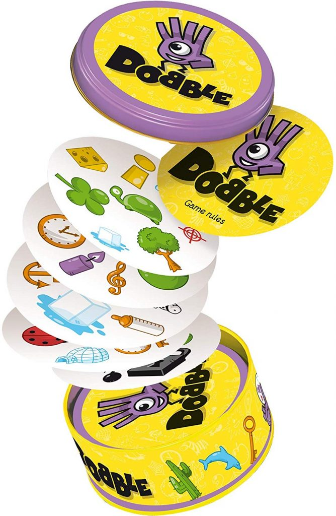 Dobble, a circular board game