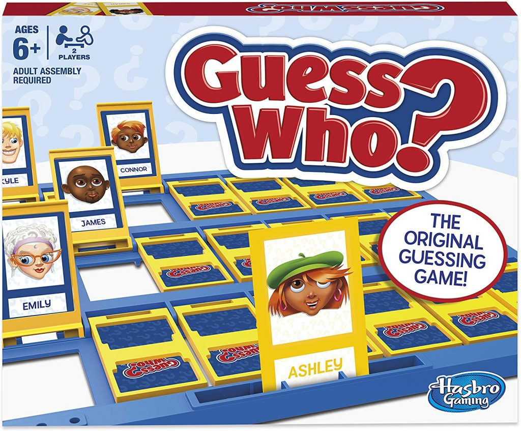 A box of Guess Who? The board game