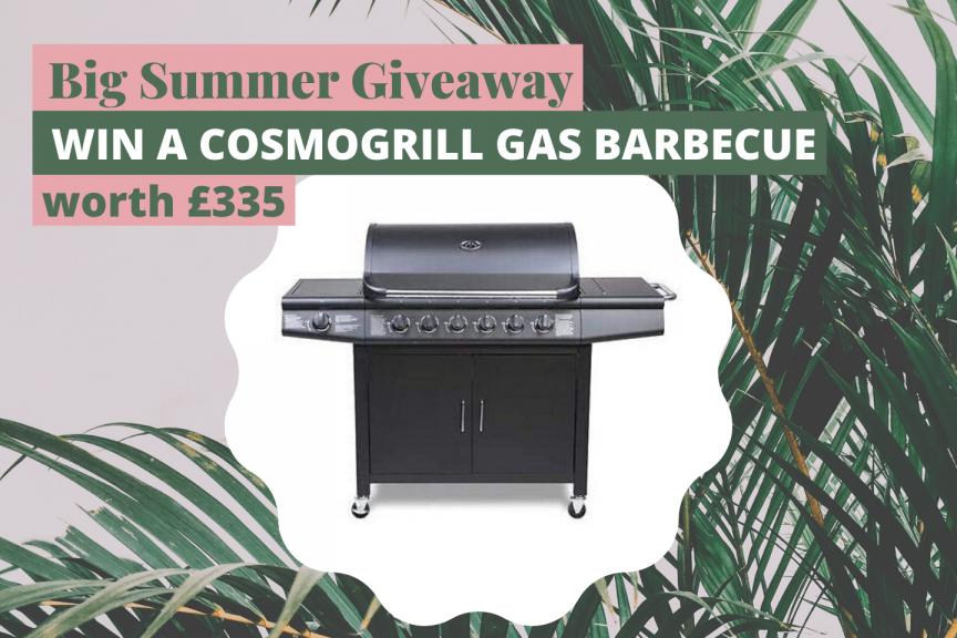 Win a gas BBQ worth £335
